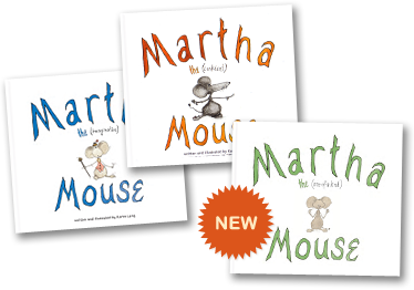 Martha the Mouse Book Covers